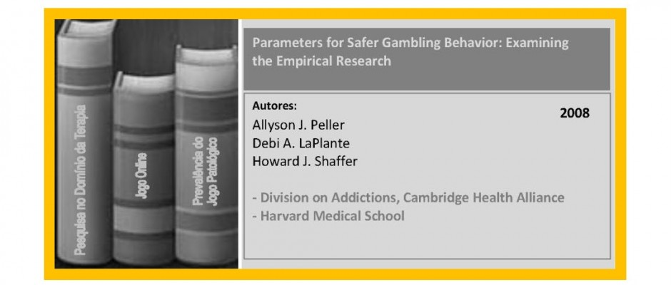 Parameters for Safer Gambling Behavior - Examining the Empirical Research.._Page_2