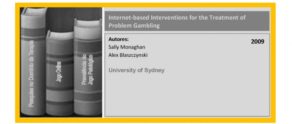 Internet-based Interventions for the Treatment of Problem Gambling
