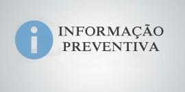 Informação Preventiva | Índice